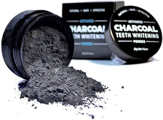 Pristine White Activated charcoal teeth whitning powder