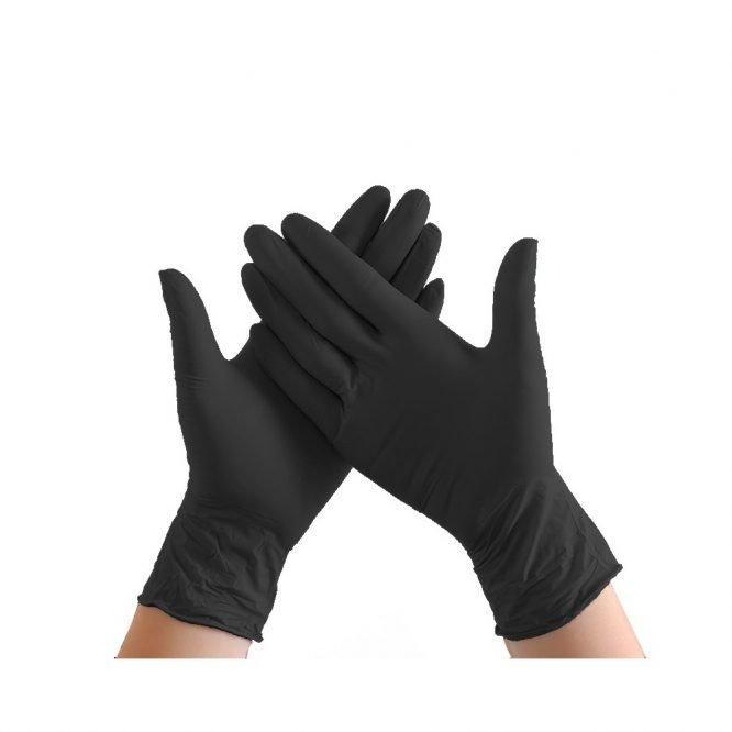 handschoen nitril zwart