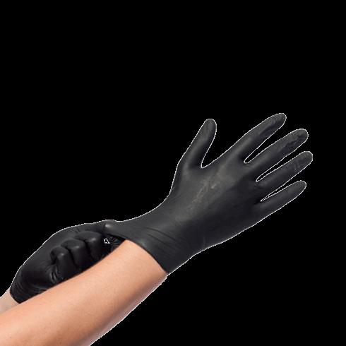 zwart handschoen nitril